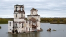 Топ 7 най-красиви потопени църкви - Крохино, Русия