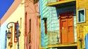 Цветният квартал Ла Бока в Буенос Айрес