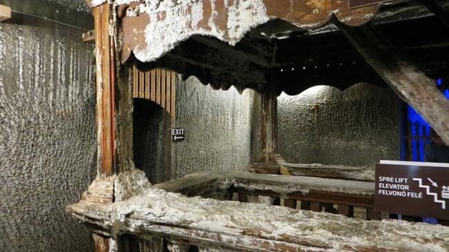 Солната мина в Турда, Румъния