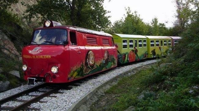 Детска железница Знаме на мира, Пловдив