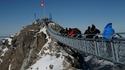 Висящият мост между два върха в Алпите