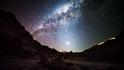 Видео за почитателите на нощното небе