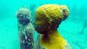 Как се гмурнахме до подводните скулптури в Гренада