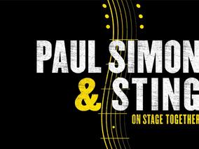 Стинг и Пол Саймън заедно на сцената