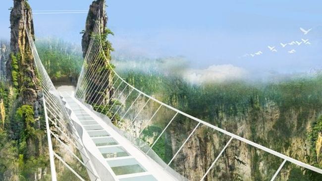 Китай ще има уникален стъклен мост