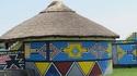 Традицията на рисуваните къщи в Южна Африка