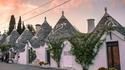 Алберобело, Италия - каменните къщички от приказките