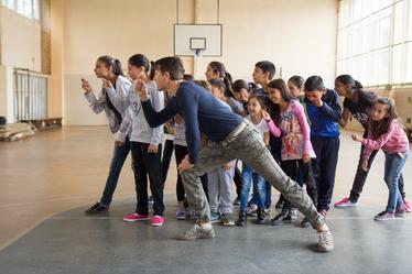 Кой открадна чипса - детски танцов спектакъл
