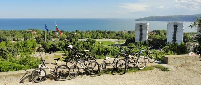 С колело от Варна до природен парк Златни пясъци