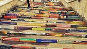 Цветните стълби до НДК – истории за книги в София