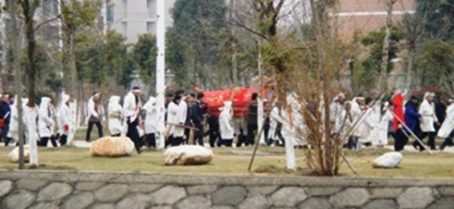 Китайски погребални обичаи: В Отвъдното по фъншуй