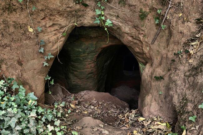 Заешка дупка води до подземно царство на 700 години