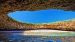 Таен плаж е напълно скрит в пещера