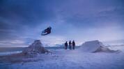 Скейтбордисти се пързалят по замръзналите плажове на Норвегия (видео)