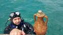 Подводна винарна в потънал кораб приема туристи