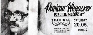 Концерт на Panican Whyasker в клуб Терминал 1