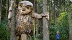 Гигантски дървени скулптури изникнаха около Копенхаген