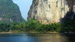 Опознай Китай с лодка по река Ли