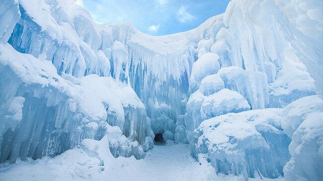 Ледените замъци в Юта (видео)