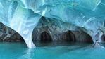 Мраморните пещери - 50 нюанса синьо