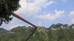 Най-големият стъклен мост на планетата