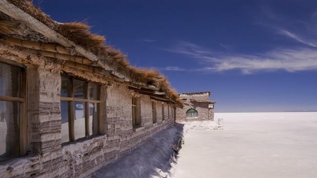 Хотелът от сол в Боливия