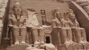 Храмът в Египет с 20-метровите статуи