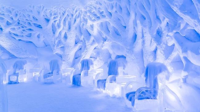 Почивка сред ледовете на Северния полярен кръг?