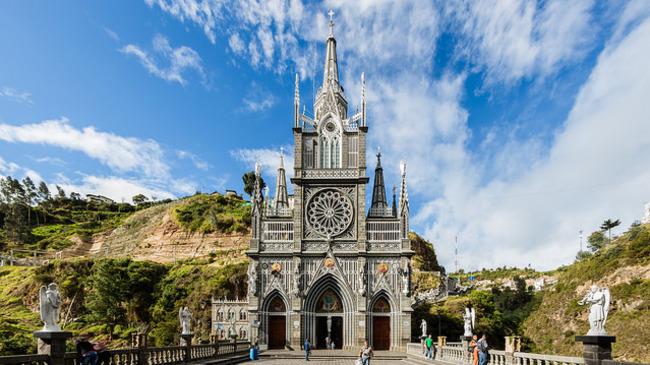 Чудотворната църква на Света Богородица в Колумбия