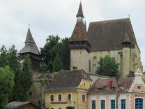 Биертан – румънският град само с един развод