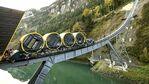 Създадоха най-стръмната жп линия в Швейцария