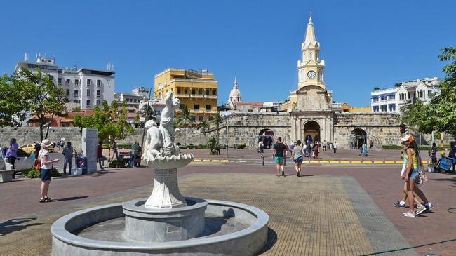 Колумбийският град на контрастите