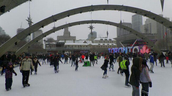 Канадски прелести през зимата: Торонто