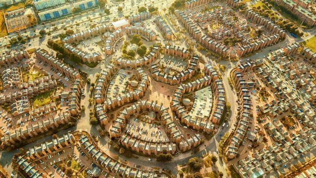 Столицата на Колумбия е истинско геометрично чудо (снимки) - Градски ... 01d9105315223