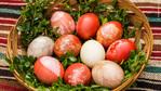 Най-старата рецепта за боядисване на великденски яйца