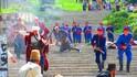 Възстановка на Априлското въстание в Панагюрище