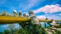 Ръцете на Бог държат най-новия мост във Виетнам