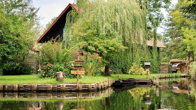 Шпреевалд – немското градче, в което се придвижваш само с лодка