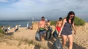 "Организирано почистване на плаж ""Ветеран"", Варна"