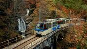 Пускат влак за есенна разходка през Алпите