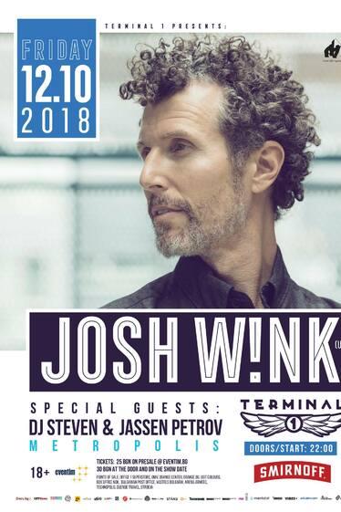 JOSH WINK пристига в София за специален сет