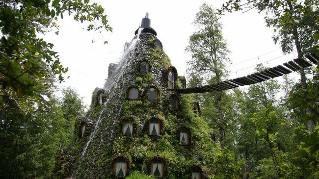 Хотелът-вулкан в Чили