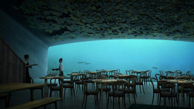 Резервирайте маса в първия подводен ресторант в Европа!