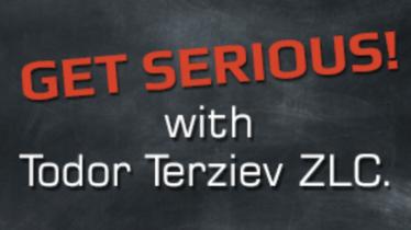Мотивационна лекция GET SERIOUS! с Тодор Терзиев