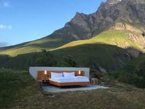 Хотелът без стени в Швейцария