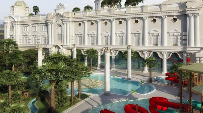 Необитаемият богаташки комплекс в Турция