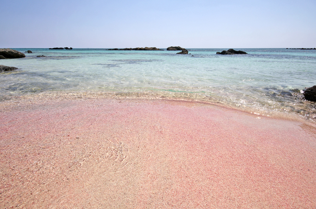 Сред чудесата на природата: 7 уникални розови плажа