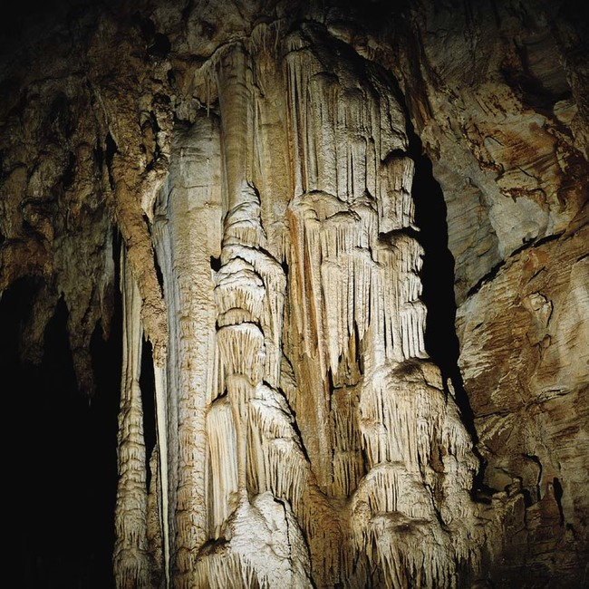 Алистрати - шарената пещера