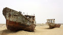 Гробище за кораби насред пустинята