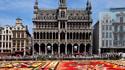 Африкански килим от цветя в Брюксел